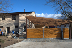 Přístavba 2.NP z rámové konstrukce. Dřevostavba Chlumec nad cidlinou