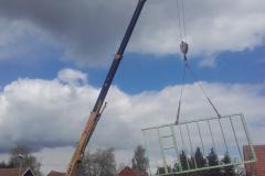 Výstavba dřevostavby Nový Bydžov