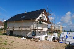 Výstavba dřevostavby Syrovátka u Hradce Králové