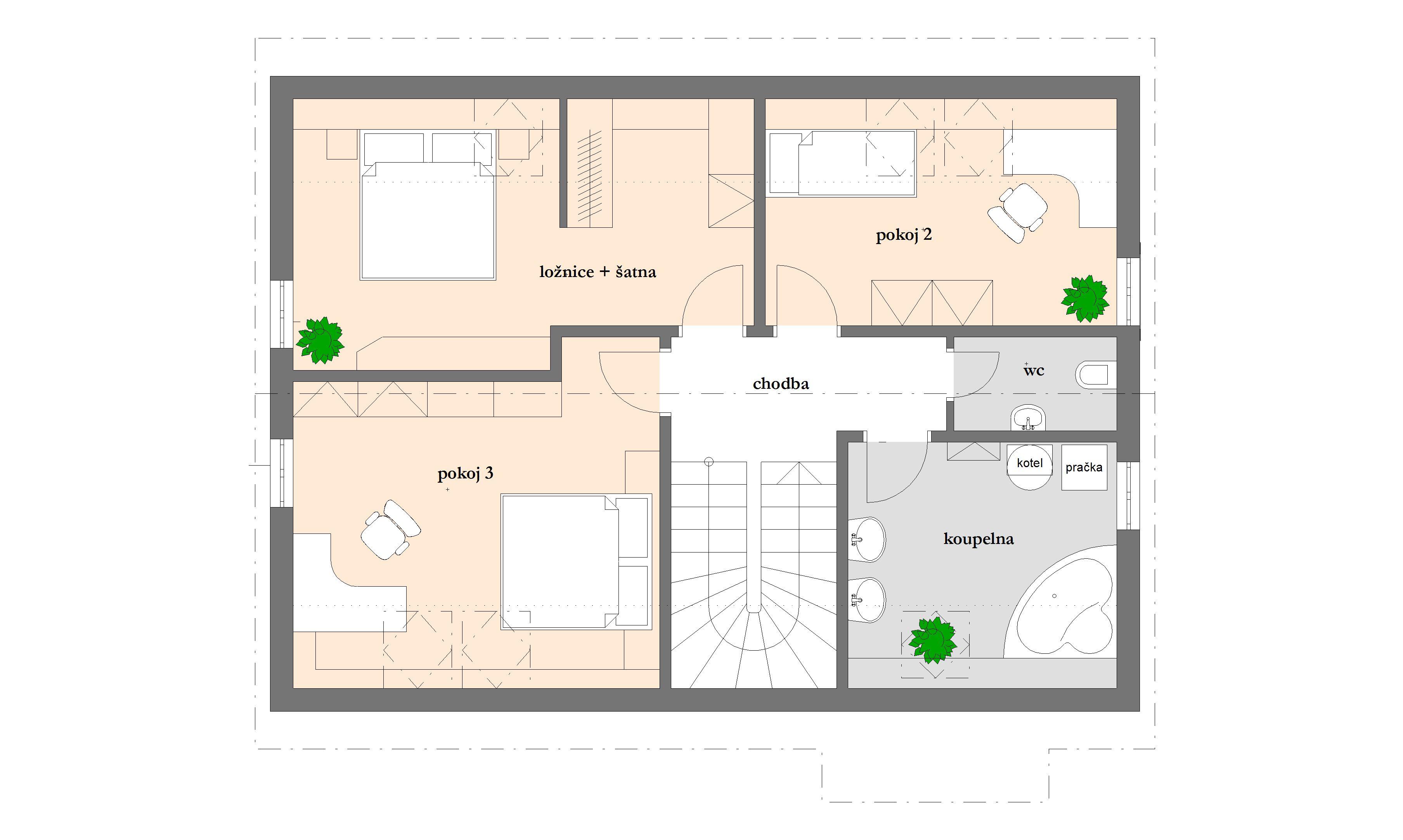 Dřevostavba dům 4