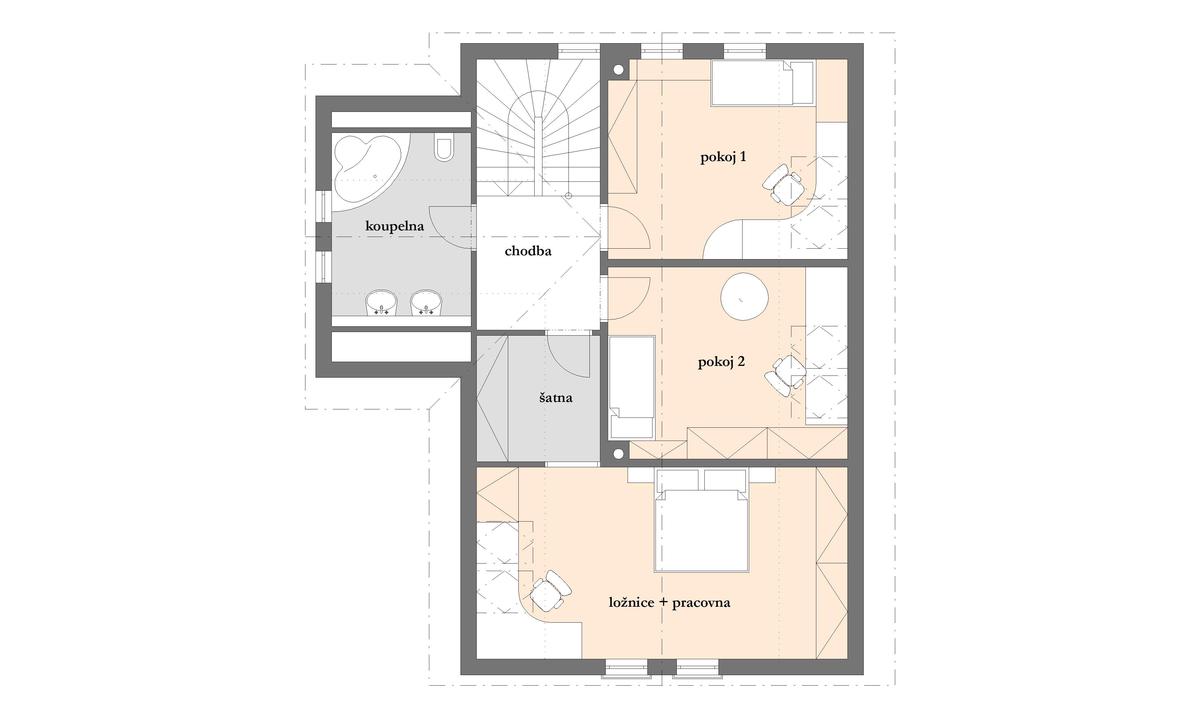 Dřevostavba dům 2